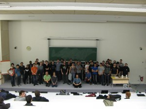 Etudiants et Encadrants d'UniJam 2014