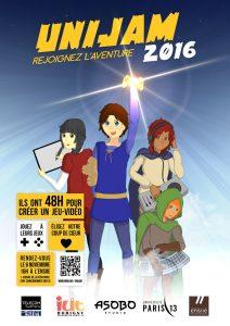 Affiche UniJam 2016